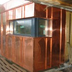 Corner Kitchen Window Cladding
