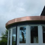 Copper Roof - Conservatory
