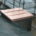 Standing Seam Capped Chimney