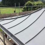 Curved Zinc Roof - VM Zinc Quartz Plus