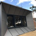 Dormer Window Cladding - VM Zinc Quartz Plus