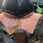 Browns of Manchester - Copper Dome with Lead Finial