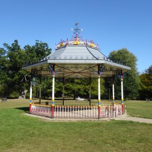 Bandstand - Cassiobury Park - VM Zinc Quartz Plus