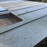 Roof-VM Zinc Pigmento Green....Rainwater System-VM Zinc Quartz