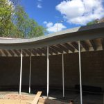 Curved Roof, Gutter and Fascias