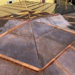 Copper - Hexagonal Roof and Chimney