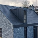 Dormers, Edge Surrounds and Porch - GreenCoat Mountain Grey