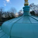 Bandstand - Pre-Patinated Copper